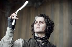 sweeny todd with razor